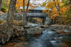 this is the flume Gorge covered bridge in Franconia Notch State Park New Hampshire. if you follow through by clicking the image it will take you to fine art America where you will have the opportunity of purchasing this very popular print.