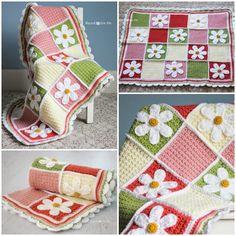 40+ DIY Crochet Baby Blanket Free Pattern