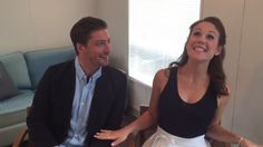 """Announcing season 4. These two are """"Humble & Hilarious"""" ❤️! #Hearties #ErinKrakow #DanielLissing"""