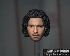 1-6-Scale-Jon-Snow-Head-Sculpt-Game-of-Thrones-For-12-034-Male-Body-Figure