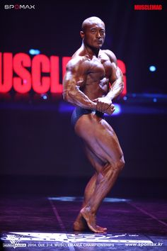 Gwak Hui Jun (곽희준, Korean Bodybuilder) at 2014 Muscle Mania Korea