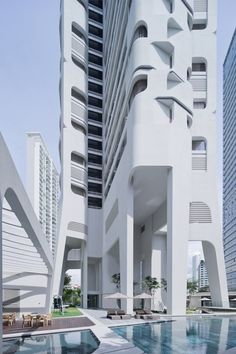 Stunning residential building in Singapore. #NerdMentor