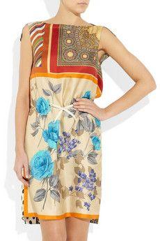 DressologyHQ Dress of the Week.  D&G Silk Scarf Dress.  dressologyhq.blogspot.com