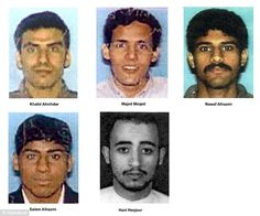 Hijackers: These men flew Flight 77 into the Pentagon. Allex helped Nawaf and Salem Alhazmi get on board. The FBI and FAA both said he wasn't to blame but he still feels guilty