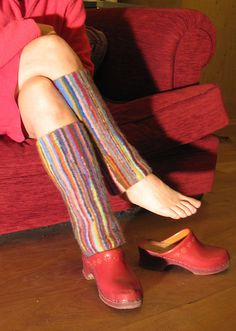 Ravelry: fabulous felted gaiters pattern by Jennie Howes