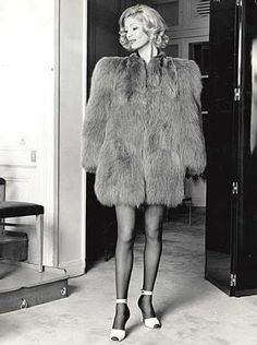 1971 Yves Saint Laurent runway show