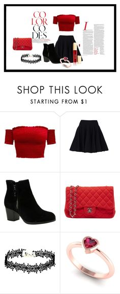 """""""Red Beauty"""" by sunnsetgirl on Polyvore featuring Mode, Skechers und Chanel"""