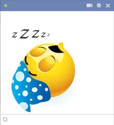 Nighty-night emoticon(̆̃̃❤ (̆̃̃❤
