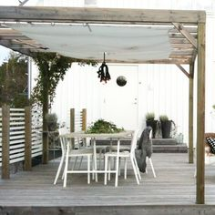Image result for diy outdoor wood canopy with canvas cover