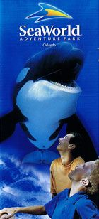 Sea World, Orlando, Florida - I went here as a youngster, but barely remember it. I'd love to go back some day!