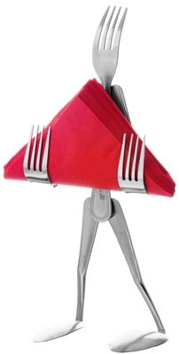 Napkin Stand - Fork a kitchen gift by Forked Up Art
