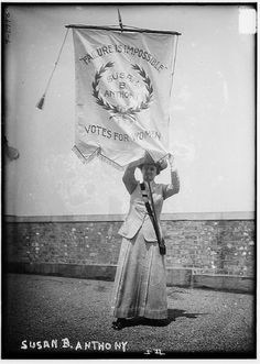 Susan B. Anthony--- Powerful Photographs From The Women's Suffrage Movement