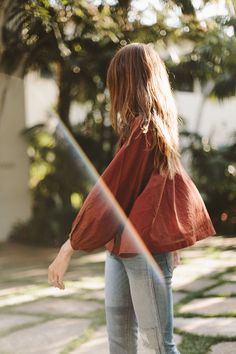 The Doen Jane Blouse for early fall days.