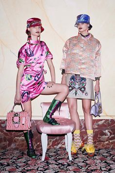 #MiuMiu  #fashion #Koshchenets   Miu Miu Resort 2017 Collection Photos - Vogue