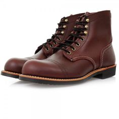 dad2c2d0988 Red Wing 8119 Iron Ranger Boot (Oxblood) at Dandy Fellow