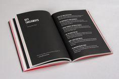 99U Book Design :: Manage Your Day-to-Day by Raewyn Brandon, via Behance