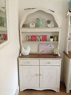 Dutch Dresser - as nursery storage
