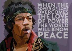 Jimi was a hippie