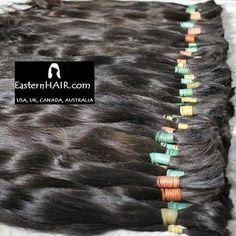 Finest Soft Natural Human Hair, Virgin Dark Cuticle, Very Long Wavy Bundles #humanhair #russianhair #europeanhair #darkhair #softhair #haircollection #hair #hairextensions #wavyhair #curlyhair #cyrly #hairstylist #style #hairtreatment #hairloss #cancer #wigs #wig #wigmaker #hairmanufacture #wigsmanufactures #hairs #wigshop #hairstore #haircostum #buyhair