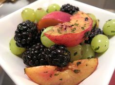 summer fruit salad monk fruit sweetener