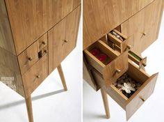 #Fibonacci #cabinet #wood