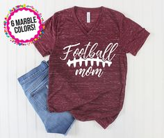 Football Shirt/ Football Mom Shirt/ Game Day Shirt/ High