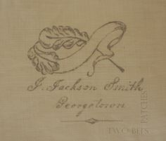 Jesse Jackson's signature on the Chester Criswell Quilt
