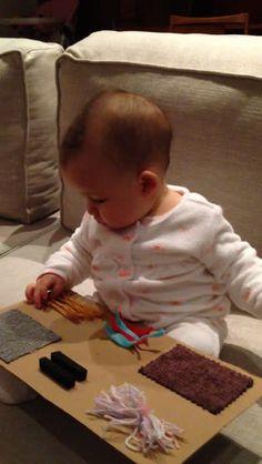Assistir:Gabi e o seu Quadro Sensorial Montessori, Sensory Bins, Activity Games, Dory, Toddler Activities, Kids And Parenting, Little Ones, Education, 6 Month Baby Activities