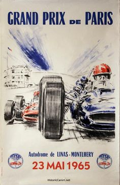 Autodrome Linas-Montlhéry - Grand Prix de Paris 23 May 1965.