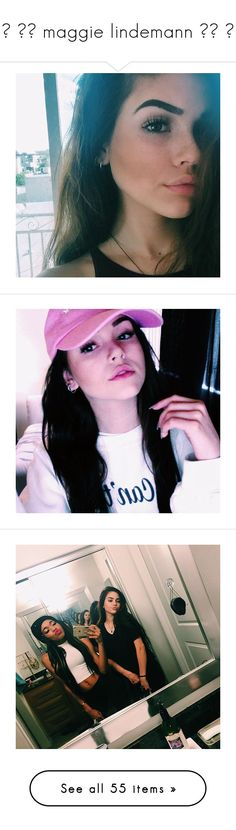"""☼ ▬▬ maggie lindemann ▬▬ ☼"" by itm-clippxr ❤ liked on Polyvore featuring faceclaims, maggie lindemann, emily and hair"