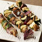 Grilled Moroccan Chicken Kabobs