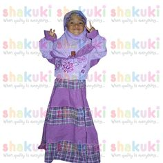 Gamis 2in1 Purple Big/Small Checkered Moslem Girl. Detail and order, pls visit http://www.shakuki.com/1710,2407-0330-gamis-2in1-purple-big-small-checkered-moslem-girl.html