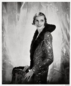 British Vogue  Lady Louis Mountbatten by Cecil Beaton, 1931