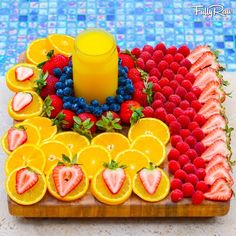 Fully Raw Kristina's picture perfect fruit platter