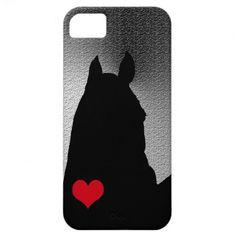 Horse Heart Metallic ~ iPhone 5 Case