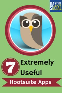 Hootsuite Apps: 7 Extremely useful apps for Hootsuite  http://www.razorsocial.com/hootsuite-app/
