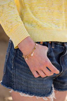 summer tassel bracelet