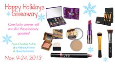 A Beauty Moment: HUGE HOLIDAY GIVEAWAY