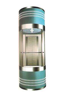 thang máy lồng kính DA 538