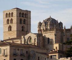 Cathédrale de Zamora construit entre 1151 et 1174,art roman espagnol