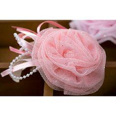 #fabric #ribbon #flowers