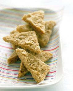 Easy Cookie Recipes // Oatmeal Shortbread Recipe