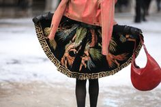 Street Look à la Fashion Week automne-hiver 2013-2014 à New York, Jour 1
