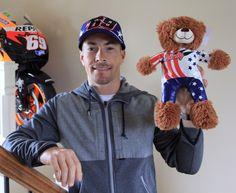 Gabi Toy    Nicky Hayden Bear - Moto Accessories