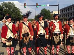 71st Regiment of Foot at the Greenville Scottish Games 2014