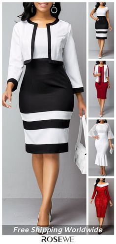 Winter Smart Casual Dresses For Women 2020 - Source by sonia_youyou - Smart Casual Women Dress, Casual Work Dresses, Modest Dresses, Classy Outfits, Casual Outfits, Casual Clothes, Moda Blog, Women's Fashion Dresses, The Dress