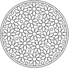 Paper Embroidery Patterns All Things Parchment Craft: A Few Parchment Craft Mandala Patterns