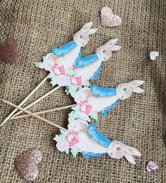 3D Paper Butterflies PETER RABBIT FLOPSY MOPSY COTTONTAIL x12 embellishments ❤