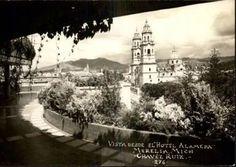 Vista desde el hotel Alameda.
