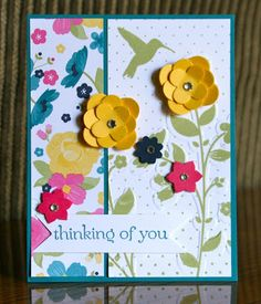 Stampin' Up! Wildflower Meadow by Krystal's Cards and More: I'm still here!!